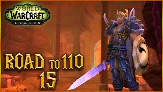 ME PASO A TANKE - ROAD to 110 - Cap 15 - World of Warcraft
