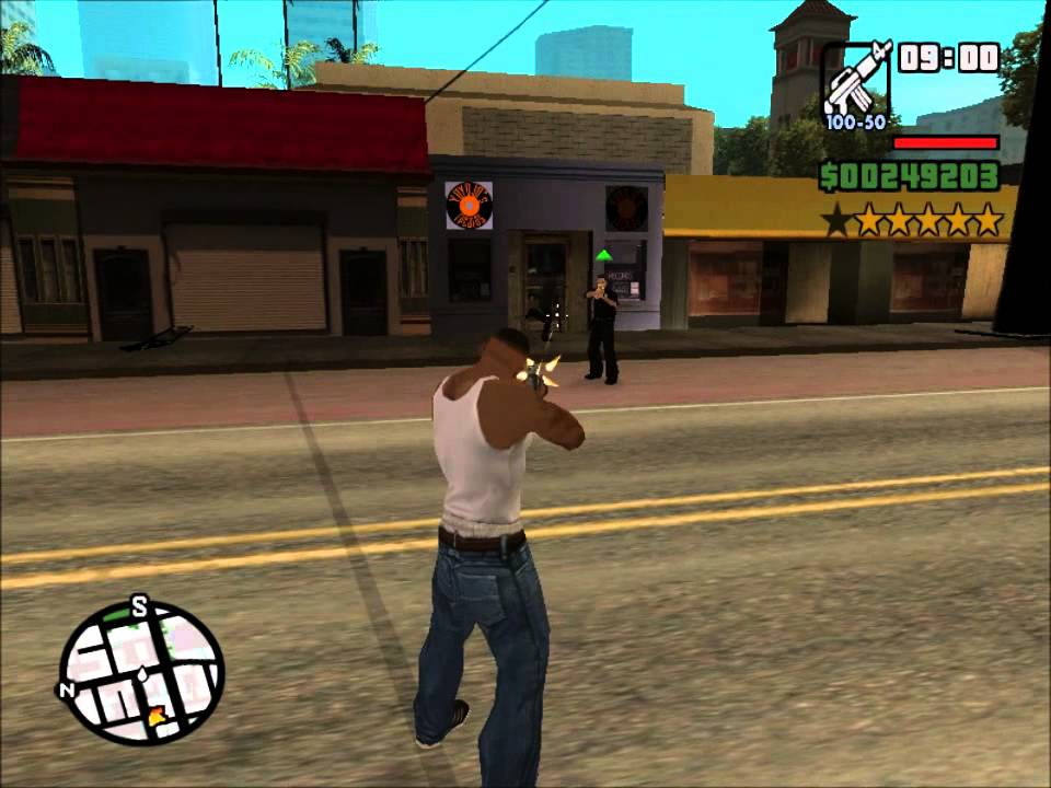 Gta San Andreas Ps2 Gameplay Gta San Andreas Modo