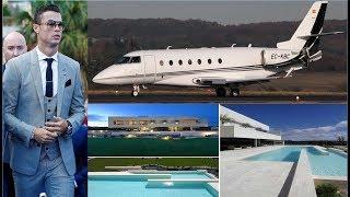 Cristiano Ronaldo's Lifestyle, Private Jet, Wife, Children, Net Worth, House, Cars etc