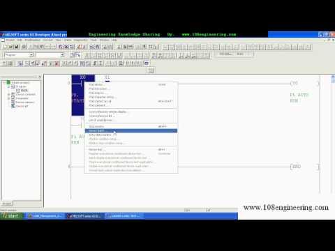 108E_PLC_MIT_Intro GX Developer. avi