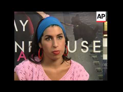 Young Amy Winehouse talks to APTN about fame in 2004