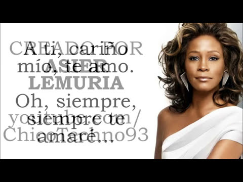 I Will Always Love You   Whitney Houston letra en Español   YouTube