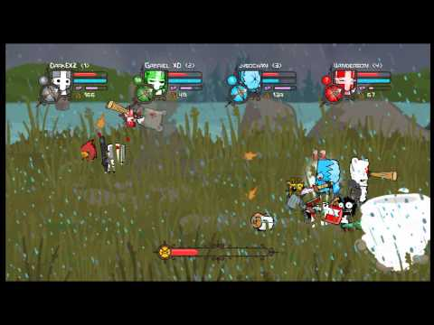 Castle Crushers dos brdi