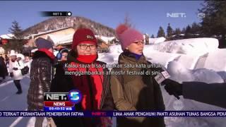 Habiskan Liburan Musim Dingin Dengan Berkunjung ke Kota Salju di Cina - NET5