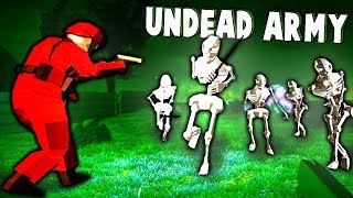 Ravenfields NEW Undead Army Game Mode! (Ravenfield New Update Gameplay)
