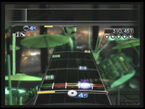 Burn It To The Ground by Nickelback ~ RockBand 2 DLC for 06/29, Expert Guitar/Vocals 100% FC