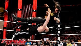 The Authority grounds Brock Lesnar: Raw, June 22, 2015