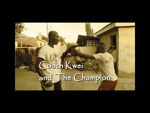 Coach Kwei and the Champion - CCTV Faces of Africa Broadcast, 2014