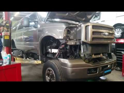Ford Excursion Body Removal