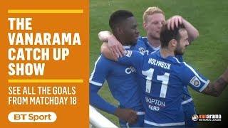 Vanarama National League Highlights Show | Matchday 18