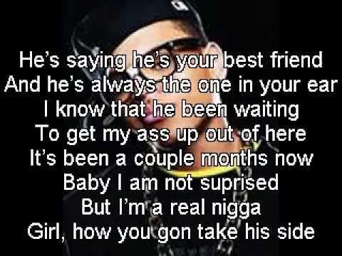 Chris Brown- Marvin's Room W  Lyrics video
