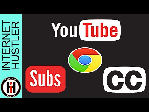 How To Extract YouTube Subtitles Closed Captions From YouTube Videos Chrome