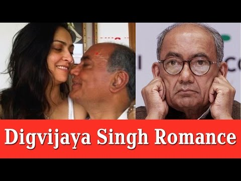 Digvijay Singh has accepted his relationship with Amritha Rai