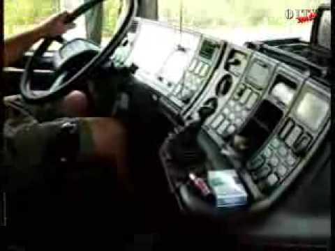Видеоролик о жизни дальнобойщиков