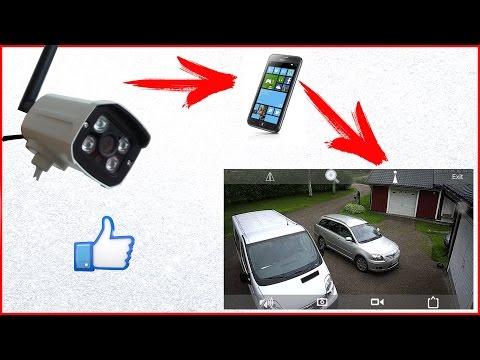 Беспроводная камера слежения с алиэкспресс обзор
