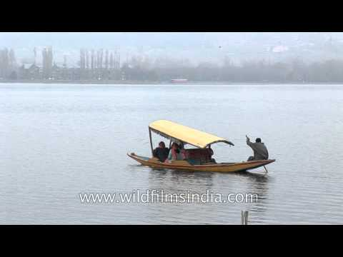 Dal Lake- second largest lake of Jammu and Kashmir
