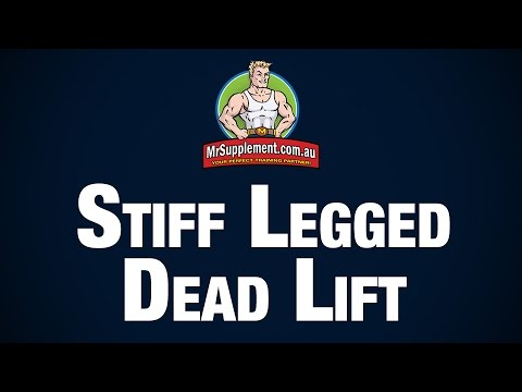 Stiff Legged Dead-Lift / Romanian Dead-Lift Technique Image 1