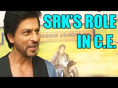 "Shahrukh Khan talks about his role in the film ""Chennai Express"""