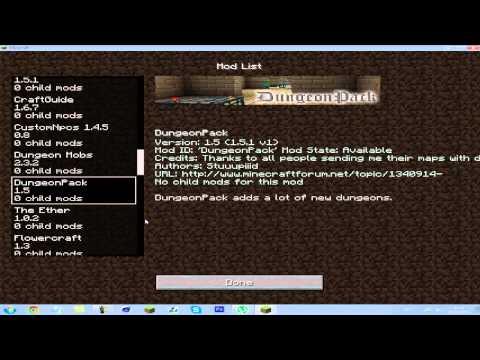 Pack de MODs #10 - 52 MODs   Minecraft 1.5.1/1.5.2