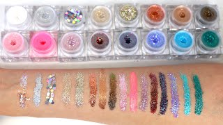 Lit Cosmetics Glitter Swatches | GET SWATCHED