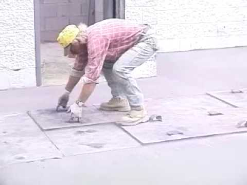 SCP Wal-Mart Concrete Stamping