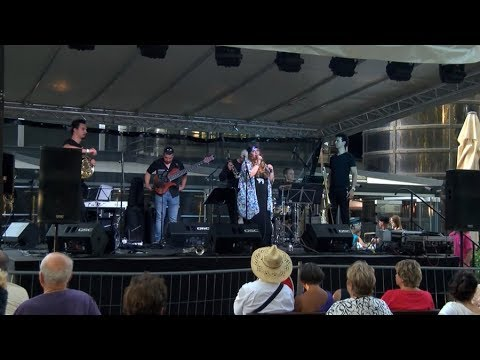 A Fourtissimo együttes koncertje a Hévízi Borünnepen
