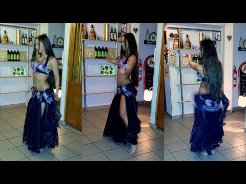 *Isabella Belly Dance Performance~Drum Solo* 2014 HD