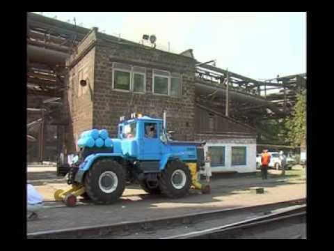 испытания трактора