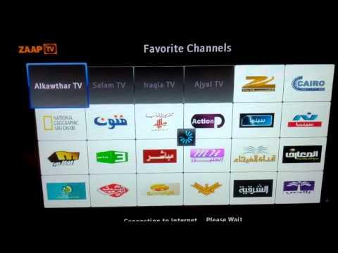 Arabic tv on zaap tv