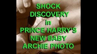 SHOCKING DISCOVERY in PRINCE HARRY'S PHOTO with BABY ?? (satire)