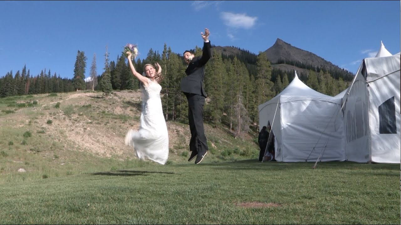 Wedding video highlights colleen kyle youtube for Uley s cabin crested butte wedding