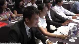 """Video clip Công Vinh, Thanh Bình ngồi ghế nóng game show truyền hình """"Cầu Thủ Nhí 2015"""" mùa đầu tiên"""