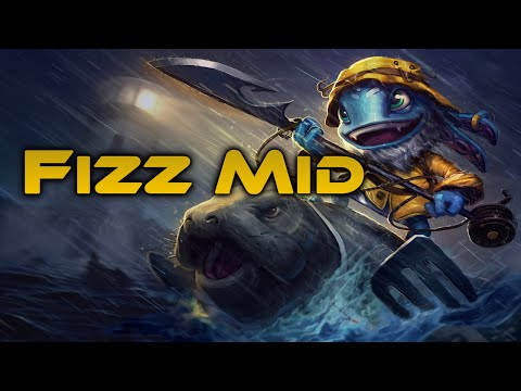 League of Legends - Fisherman Fizz Mid - Full Game Commentary