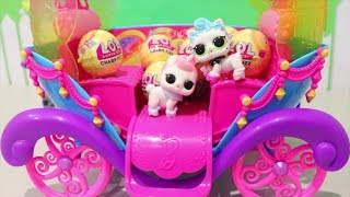 LOL Pets Wave 1 FULL SET ! Toys and Dolls Fun Opening LOL Surprise Fizz Balls