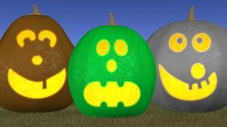 Learn Colors with Rolling Pumpkins