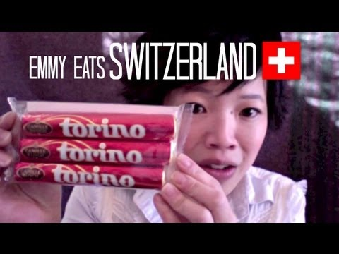 Emmy Eats Switzerland - Swiss Snacks & Sweets