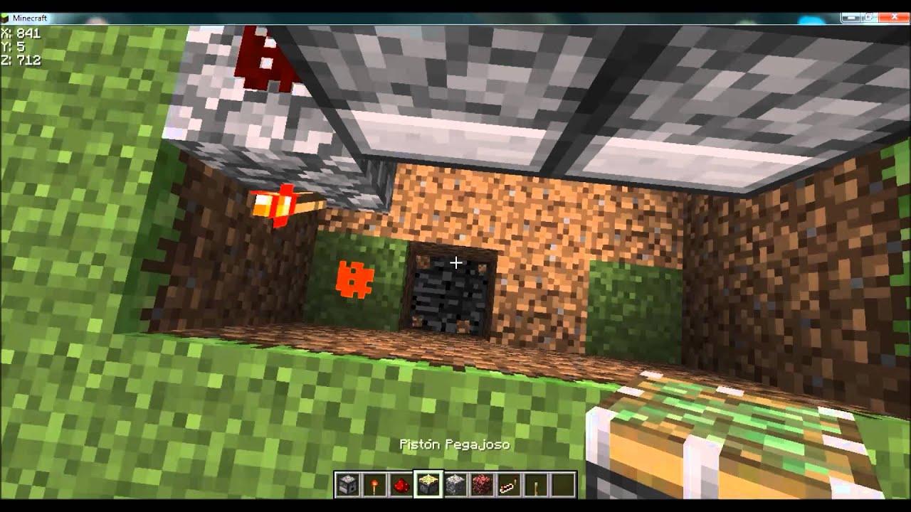 Como hacer una chimenea automatica minecraft youtube - Como construir una chimenea ...