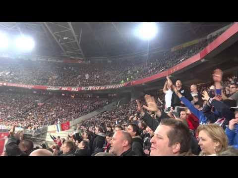 AJAX - PSV (1 - 0 ) 19-1-2014 : En koop er nog maar 10!