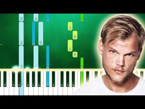 Avicii - Trouble (Piano Tutorial) By MUSICHELP