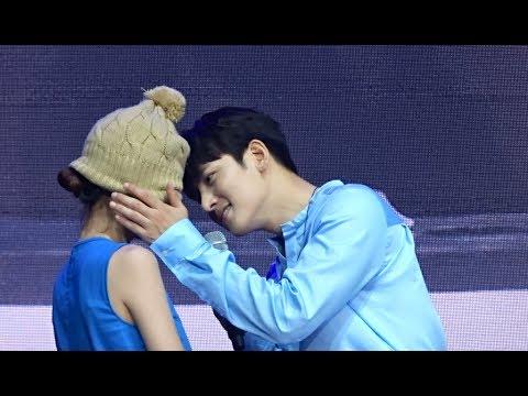 170722 Jiscovery - 지창욱 Ji Chang Wook reenacts a kiss scene from Healer 힐러