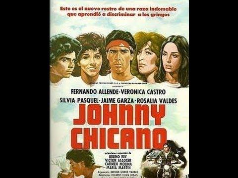 Johnny Chicano 1980 Fernando Allende Verónica Castro Sylvia Pasquel Bruno Rey Mexican American Movie