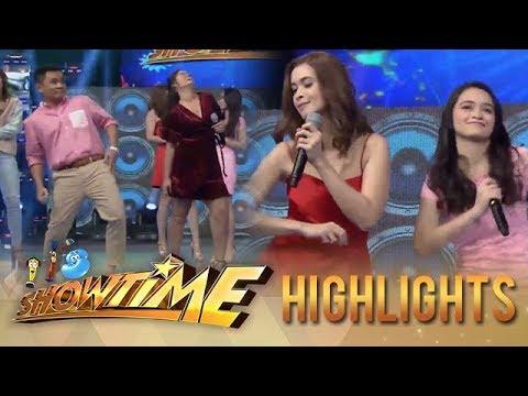 It's Showtime: Ogie, Leila, Sunshine and Angelina dance to the Taga-Saan Ka Challenge