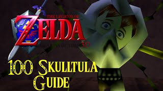 Legend of Zelda: Ocarina of Time 3D Gold Skulltula Guide
