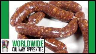 How to Make Merguez Step By Step-Spicy lamb Sausage Recipe-Beef Sausage Making