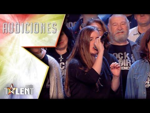 ¡Salen de todas partes! ¡Menudo coro! | Audiciones 7 | Got Talent España 2017