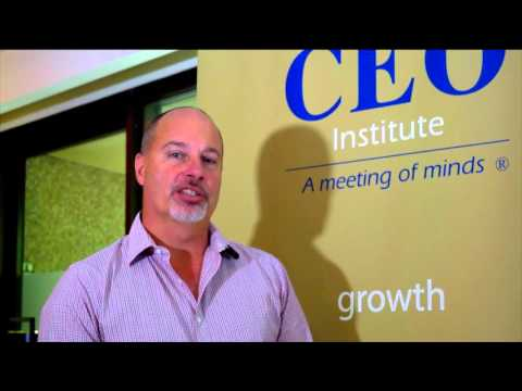 The CEO Institute Summit 2016 - NSW - Innovation - The Competitive Necessity - Ian Bollen
