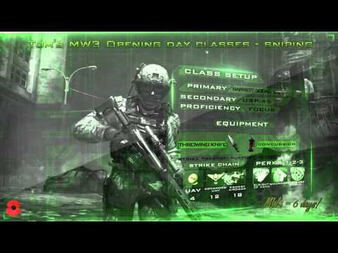 ★ Modern Warfare 3/MW3: BEST SNIPER RIFLE / SNIPING CLASS! | Full Breakdown |