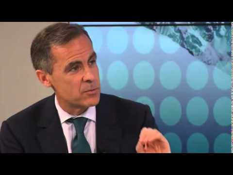 Bank of England Governor Mark Carney welcomes ECB's €1 1tn stimulus