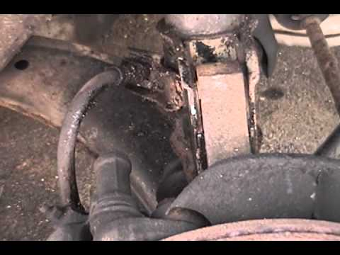 1993 Subaru Impreza - front CV axle replacement