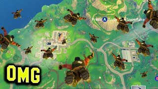 99 Players Jump Together! Fortnite Funny Fails and WTF Moments! #69 (Daily Fortnite Best Moments)
